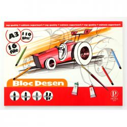 Bloc desen Pigna A3 16 file 110 g/mp