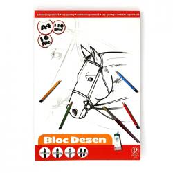 Bloc desen Pigna A4 16 file 110 g/mp