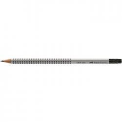 Creion grafit HB cu radiera cu grip 2001 Faber Castell 117200