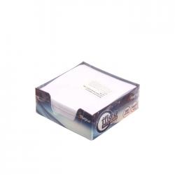 Cub notite alb cu suport Forpus 41703 300 file 9x9 cm