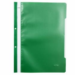 Dosar plastic cu sina si perforatii Noki verde